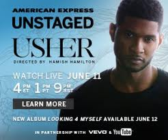"""""""American Express Unstaged"""" Helps Usher Fans Groove with an Interactive Performance Experience in London"""