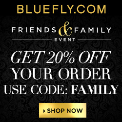 Feel the Love at Bluefly's Friends and Family Event through 10.23.13 at FlexOffers.com