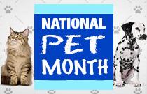 Retrieve National Pet Month Deals at FlexOffers.com!