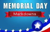 Memorial Day Markdowns at FlexOffers.com
