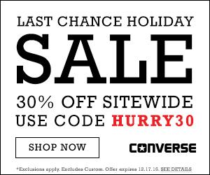 FlexOffers.com Holiday Shopping Havens- Converse