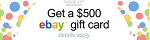 ChoiceSurveyGroup - $500 eBay Gift Card, FlexOffers.com, affiliate, marketing, sales, promotional, discount, savings, deals, banner, bargain, blog