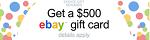 ChoiceSurveyGroup - $500 eBay Gift Card, FlexOffers.com, affiliate, marketing, sales, promotional, discount, savings, deals, banner, bargain, blog