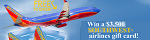 CS - $3,500 Southwest Airlines Sweeps, FlexOffers.com, affiliate, marketing, sales, promotional, discount, savings, deals, banner, bargain, blog
