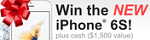 WS - iPhone 6S Holiday Sweepstakes, FlexOffers.com, affiliate, marketing, sales, promotional, discount, savings, deals, banner, bargain, blog