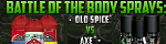 PopularProductRewards - Old Spice vs Axe Spray, FlexOffers.com, affiliate, marketing, sales, promotional, discount, savings, deals, bargain, banner, blog