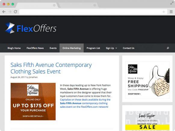 FlexOffers Solo Blog Entry