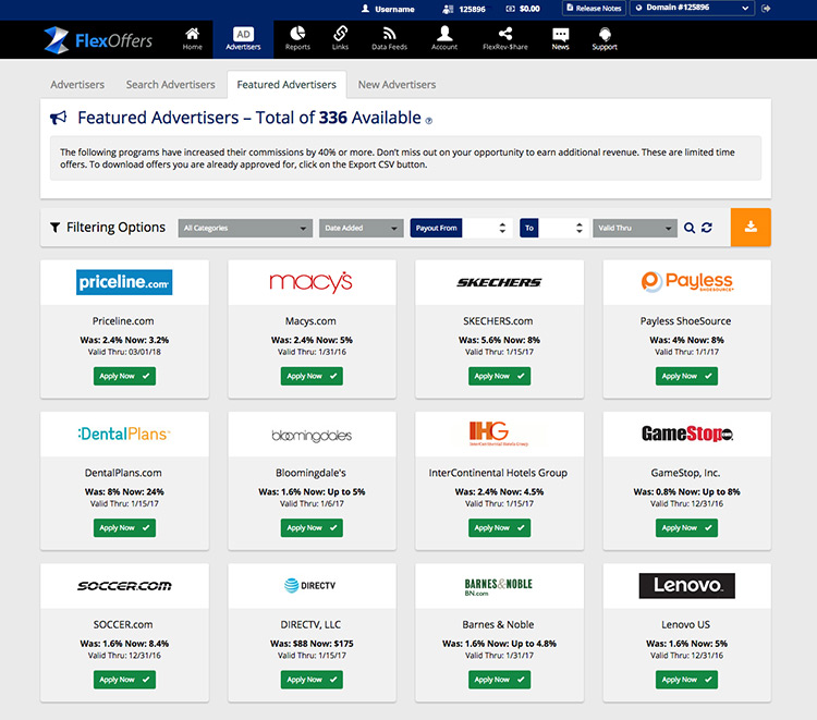 FEATURED ADVERTISERS