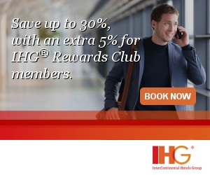 Exotic Fall Travel Deals from InterContinental Hotels Group