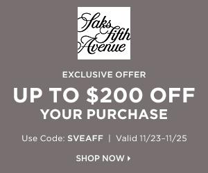 Saks Fifth Avenue Black Friday Sales