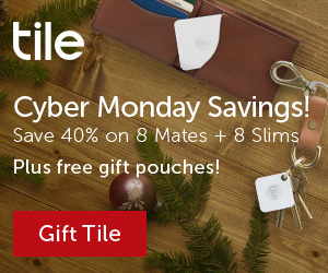 Tile Bluetooth Tracker Saves the Holidays