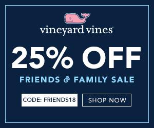 Vineyard Vines Friends & Family Sale Brings Upscale Spring Fashion Savings