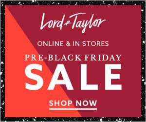 Lord & Taylor Black Friday Designer Deals